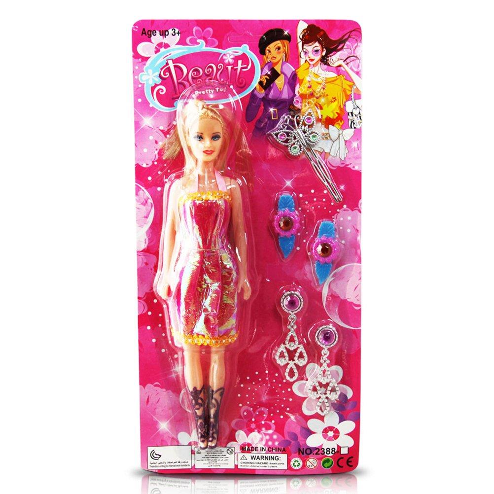 24 x Puppen-Set Beauty Puppe 6-teilig sortiert günstig als Geschenk kaufen