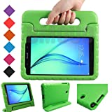 BMOUO Kids Case for Samsung Galaxy Tab A 8.0 (2015) SM-T350 - EVA Shockproof Case Light Weight Kids Case Cover Handle Stand Case for Kids Children for Samsung Galaxy TabA 8-inch Tablet - Green (Color: Green, Tamaño: Galaxy Tab A 8.0)