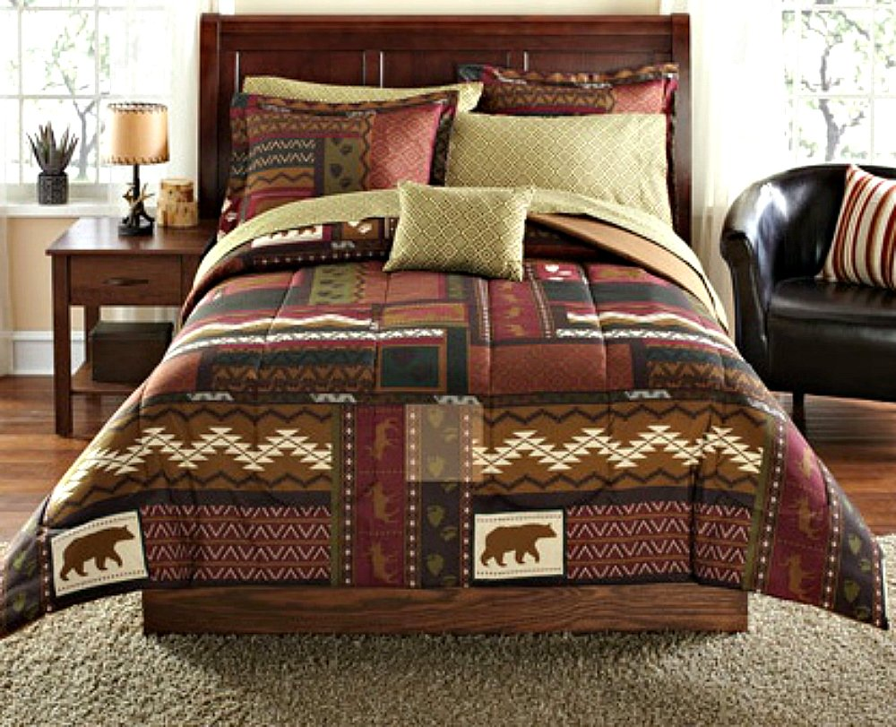 Rustic bedding and cabin bedding ease bedding with style for Southwest beds