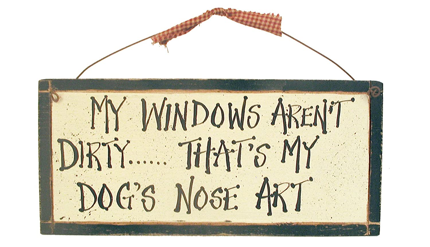 dog wall sign