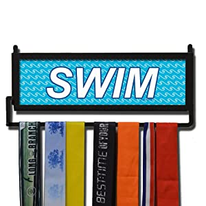 swim medal display hanger