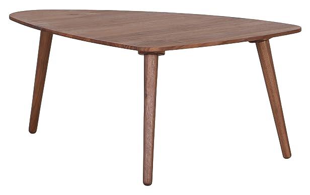 Louise 10746-15 – Tavolino in noce, 74 x 60 x 35 cm