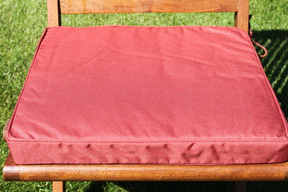 Gartenmöbel-Auflage – Sitzkissen für Klappstuhl in Terrakotta jetzt kaufen