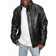 Weatherproof Leather Bomber Jacket