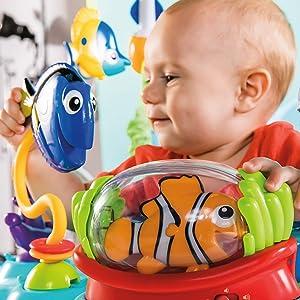 bfca9f7070e0 Disney Baby Finding Nemo Sea of Activities Jumper
