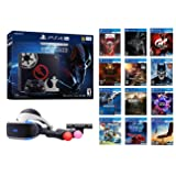 Deluxe PS4 Star Wars Bundle (16 Items): PlayStation 4 Pro 1TB Limited Edition Console with Star Wars: Battlefront II, PSVR Headset, Playstation Camera, 2 Move Motion Controllers, and 12 Games