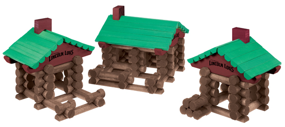 Amazon Com Lincoln Logs Collector S Edition Wooden Case