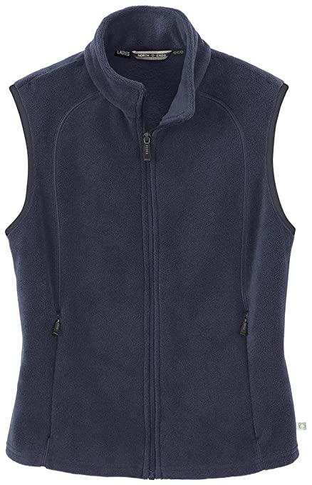 North End Womens ECO Friendly Fleece Vest Jacket Outerwear