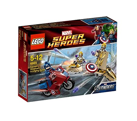 LEGO Super Heroes - 6865 - Jeu de Construction - La Vengeance de Captain America