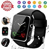 Smart Watch,Smartwatch for Android Phones, Smart Watches Touchscreen with Camera Bluetooth Watch Phone with SIM Card Slot Watch Cell Phone Compatible (Color: 3)