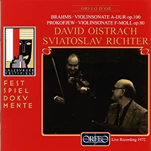 Brahms/Prokofiev: Violin Sonatas