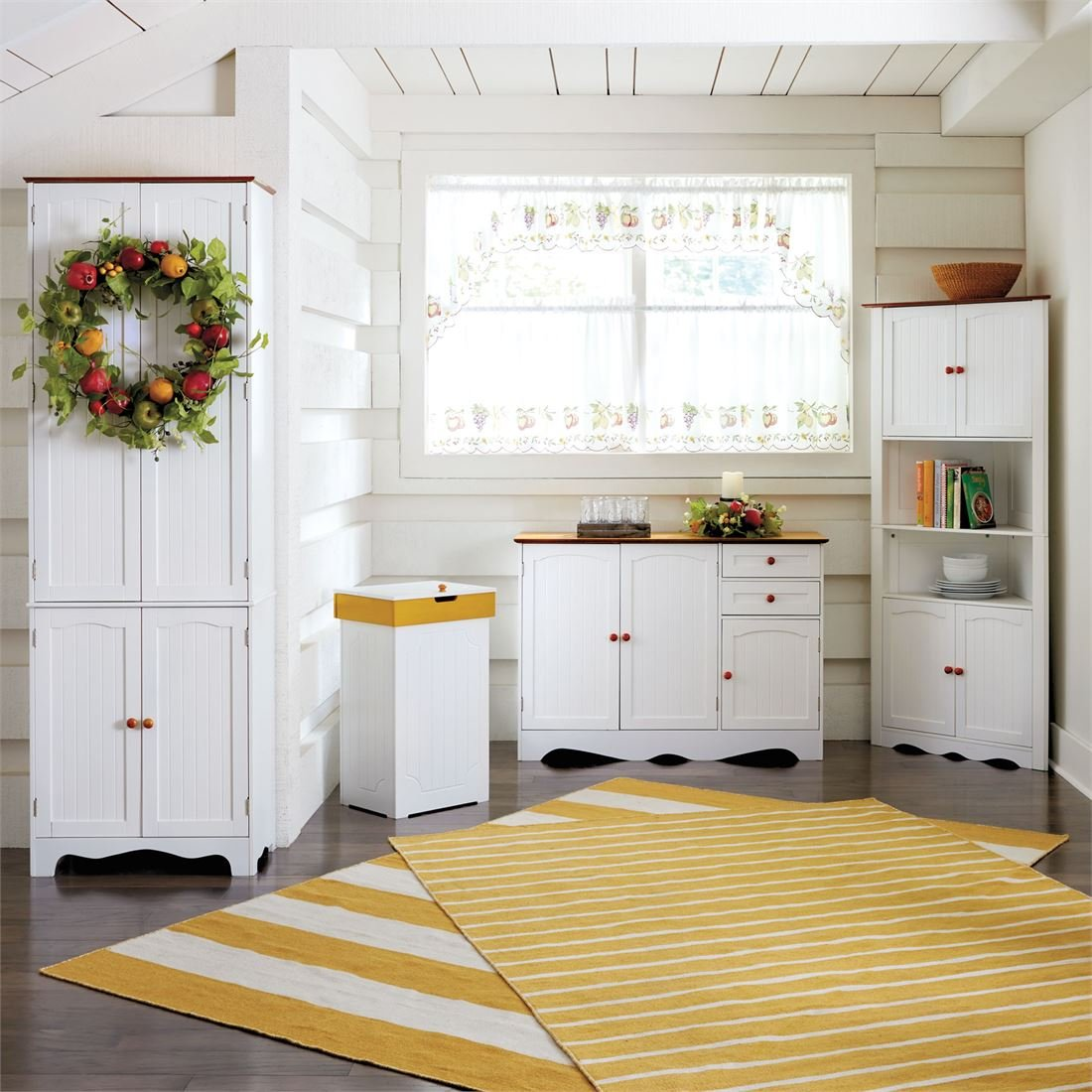 Country Kitchen Buffet (White)