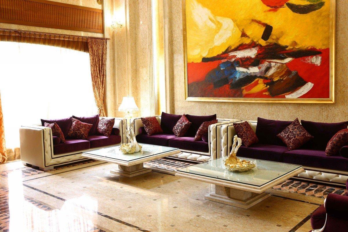 Divani Casa 2268 Modern Fabric Sofa Set