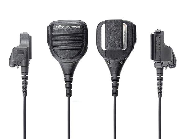 XFox Professional Rainproof Heavy Duty Shoulder Remote Speaker Mic Intrinsic Safety Standard for Motorola HT1000 JT1000 MT1500 MT2000 MTS2000 MTX8000