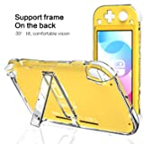 Clear Case for Nintendo Switch Lite with Kickstand