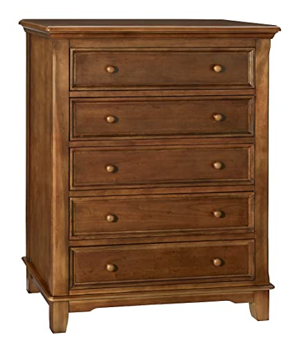 Westwood Design Jonesport 5 Drawer Chest, Tuscan