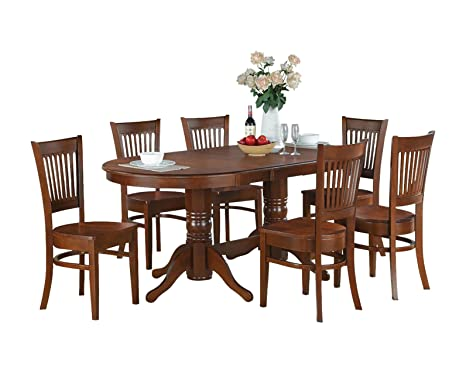 East West Furniture VANC5-ESP-C 5-Piece Dining Table Set