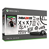 Xbox One X 1TB Console - NBA 2K19 Bundle (Color: white)