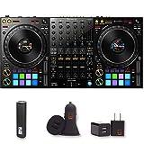 DDJ-1000 Professional DJ Controller for rekordbox with 2 Year Warranty + PowerBank + USB Car Charger + USB Wall Charger, EZEE Bundle (Tamaño: DDJ-1000)