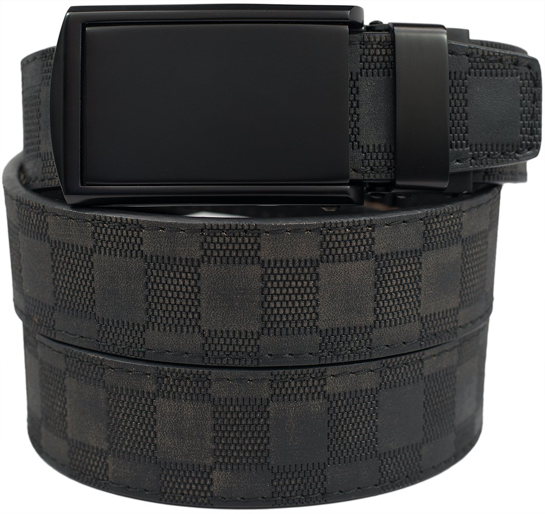 slidebelts s leather ratchet belt one size slidebelts