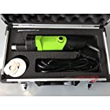 Wotefusi Electric Plaster Saw Kit Speed Adjustable Plaster Cast Cutter for Tearing Polymeric Materials Plaster with 3 Saw Blades 13000Rpm/Min 110V
