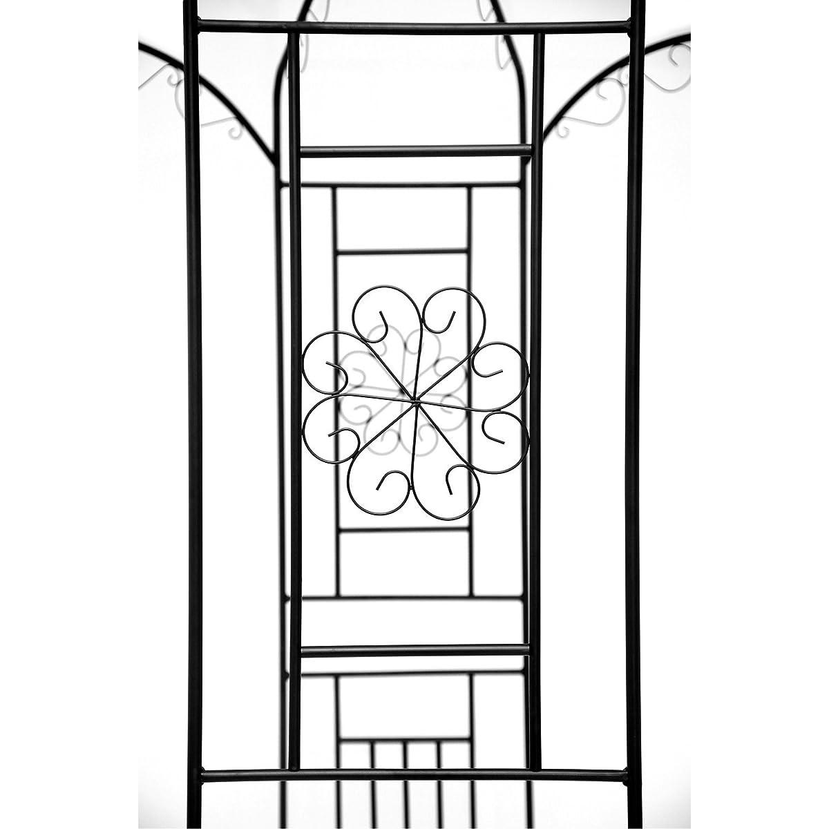 """1.Go Steel Garden Arch, 8 High x 52"""" Wide, Garden Arbor for Various Climbing Plant, Outdoor Garden Lawn Backyard Gazebo"""