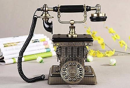 hyl Rétro téléphones Home Office Button Téléphone