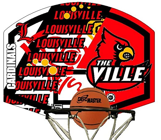 NCAA Louisville Cardinals Mini Basketball Hoopster
