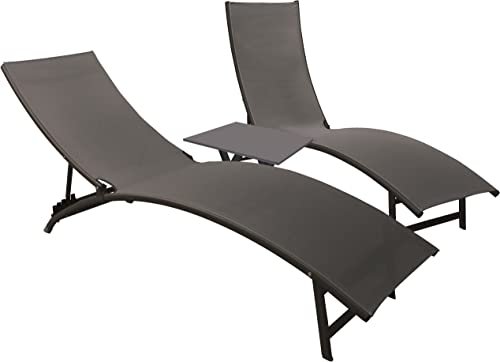 Vivere Midtown Loungers 3-Pc Set