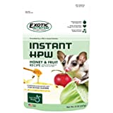 Honey & Fruit Instant-HPW (18 lb.) - All Natural Vitamin Enriched Sugar Glider Food - Healthy & Nutritious - High Protein Wombaroo - Staple Diet (Tamaño: 18 lb.)