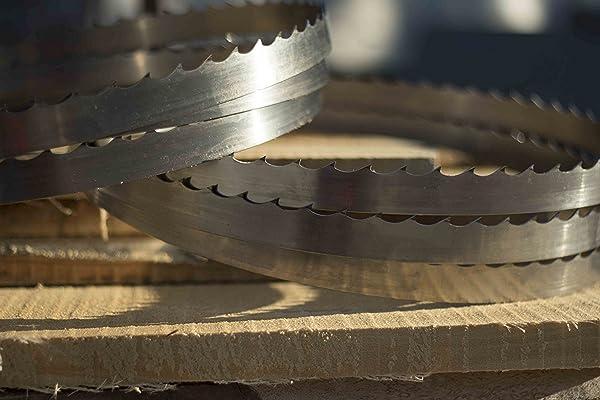 Wood-Mizer 144'' DoubleHard Sawmill Blades 10° x 0.045'' x 1.5'' -Box of 10