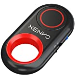 Xenvo Shutterbug - Bluetooth Remote Control Camera Shutter and Wireless Selfie Button Clicker, Compatible with iPhone, iPad, Android, Samsung, and Google Cell Phones, Smartphones and Tablets (Color: Red)