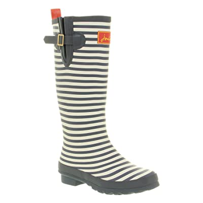 Joules Welly Print Blue Stripe