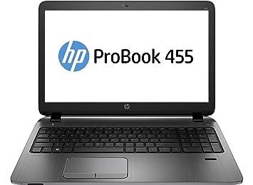 """HP ProBook 455 G2 - AMD A8-7100 (1.8GHz, 4MB), 39.624 cm (15.6 """") HD anti-glare LED (1366 x 768), 4GB (1 x 4GB) DDR3L SDRAM, 500GB 5400 rpm SATA, SuperMulti DVD±RW DL, AMD Radeon R5, 802.11b/g/n, Bluetooth 4.0, webcam, Windows 7 Professional 6"""