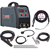 Amico TIG-205HF, 205 Amp TIG Torch Stick Arc DC Inverter Welder, High Frequency & High Voltage 100% Start, 95~260V Wide Voltage Welding Machine. (Color: Grey, Tamaño: Full Size)
