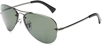 popular aviator sunglasses  aviator gunmetal