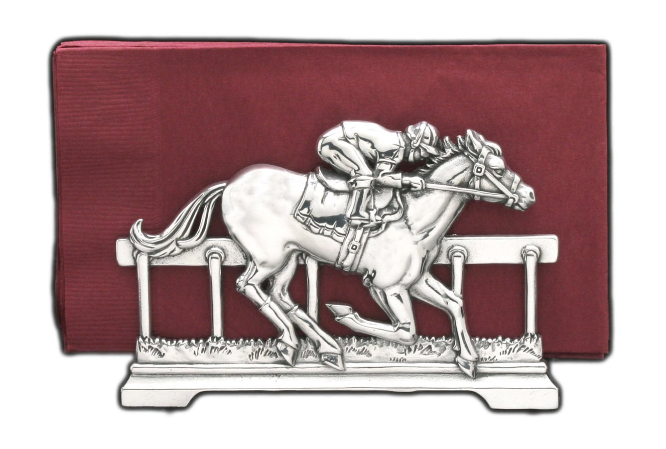 Arthur Court Thoroughbred 6-Inch Napkin Holder