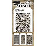 Stampers Anonymous MST028 Stencils Tholtz Mini #28