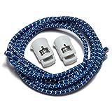 SpeedLaces iBungee Reflective Laces (Royal Blue, 30-Inch)