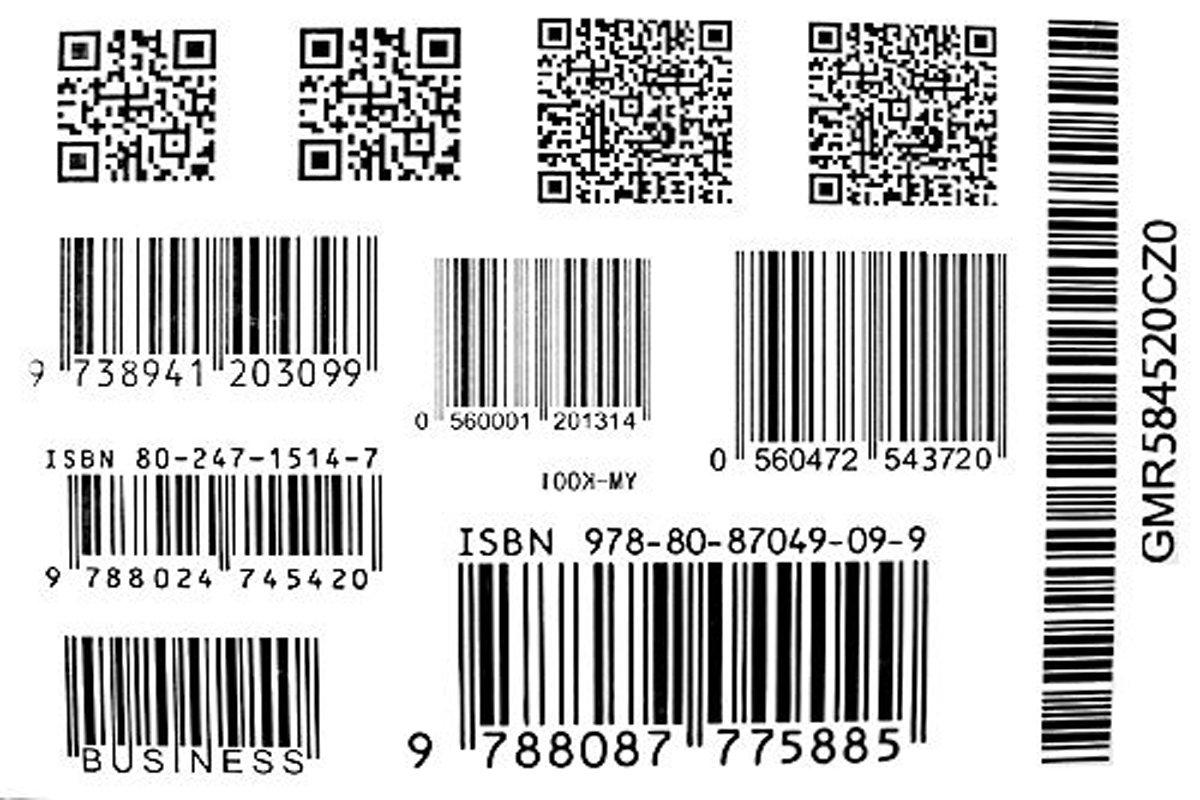 Barcode Tattoo Neck models barcode tattoo