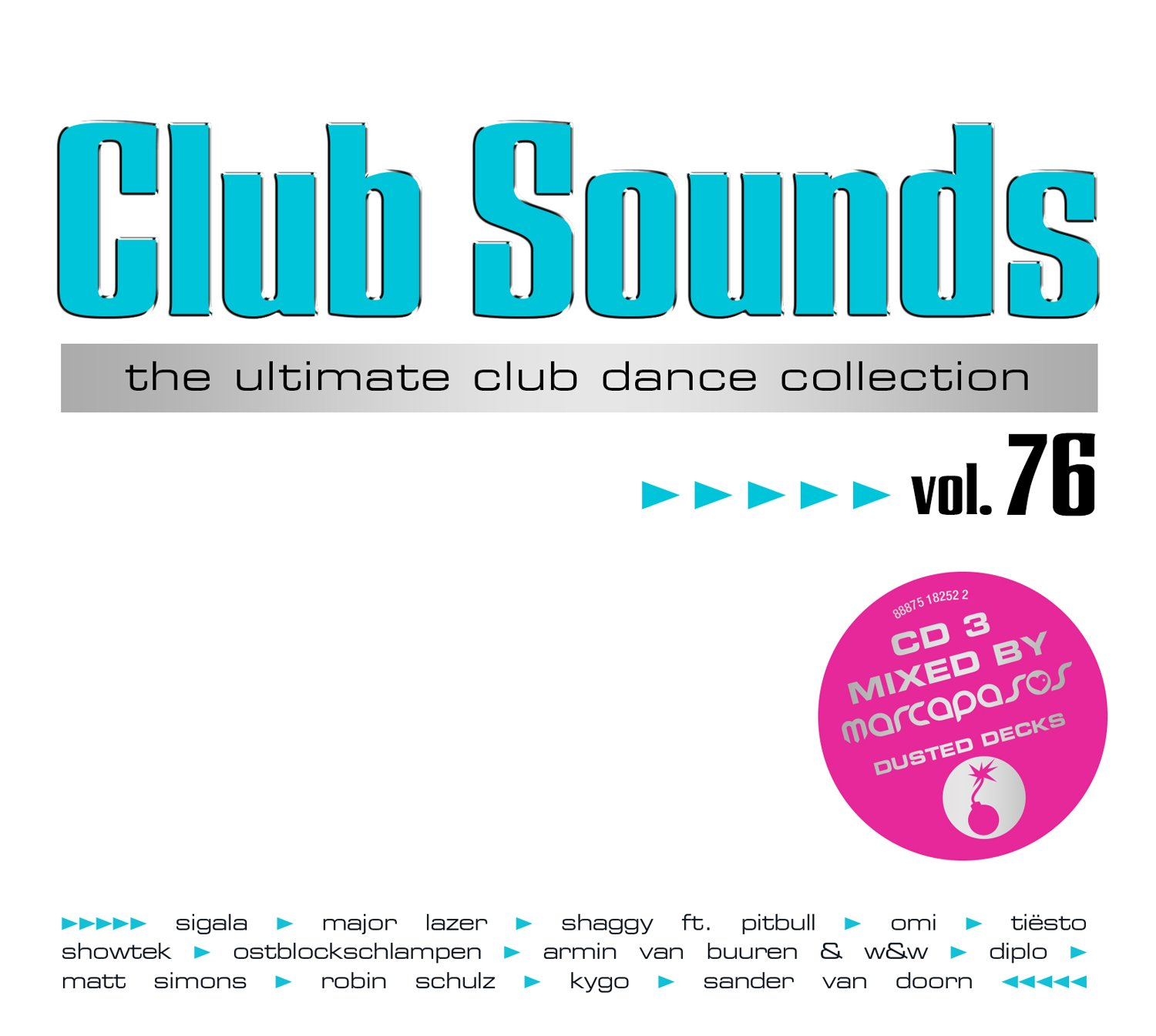 VA-Club Sounds The Ultimate Club Dance Collection Vol. 76-3CD-FLAC-2016-VOLDiES Download