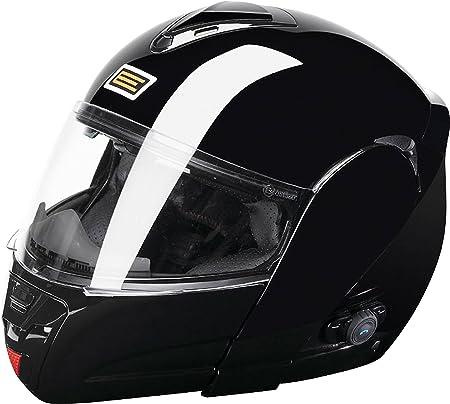 Origine helmets 204210410100005 Casque Tecno, Taille : L, Brillant Noir