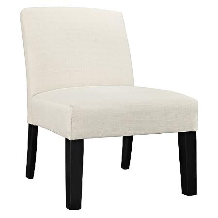 LexMod Auteur Fabric Armchair, Beige