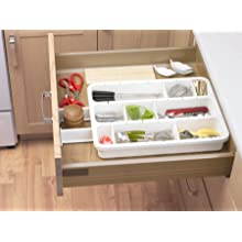 Progressive International Customizable Drawer Organizer