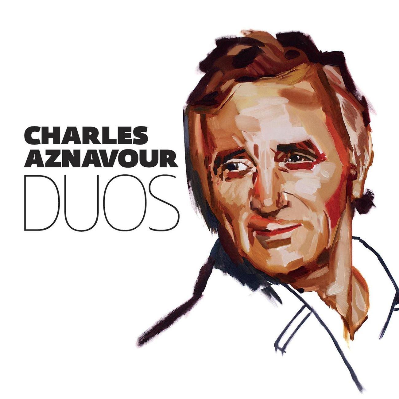 Charles Aznavour couple