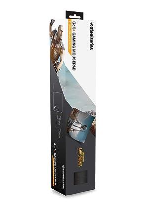 SteelSeries PUBG QcK Gaming Surface - Large Cloth Miramar - Optimized for Gaming Sensors - Maximum Control (Color: PUBG Miramar, Tamaño: Large)