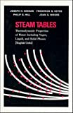 img - for Steam Tables: Thermodynamic Properties of Water Including Vapor, Liquid, and Solid Phases book / textbook / text book