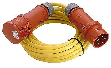 CEE Adapter Starkstrom Stecker 16A Auf 32A Oder 32A Auf 16A 400V Gummi Kupplung