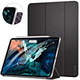Ztotop Case for iPad Pro 12.9 Inch 2018, Strong Magnetic Ultra Slim Minimalist Smart Case, Trifold Stand Cover with Auto Sleep/Wake for iPad Pro 12.9 Inch 2018 Release (3rd Gen), Black (Color: A01-Black)