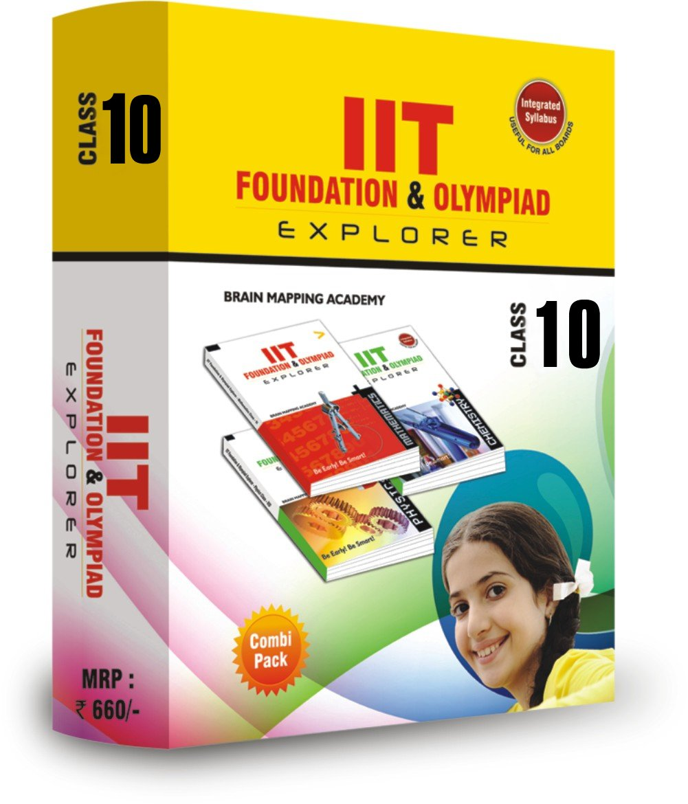 Buybipack Iit Foundation And Olympaid Explorer For Class 10 Book Online  At Low Prices In India Bipack Iit Foundation And Olympaid Explorer For